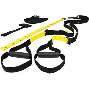 Kit Entrenamiento en Suspension Cuerda Ajustable Ejercicios Suspension Cintas
