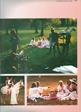 ABBA 'album photoshoot' magazine PHOTO/Poster/clipping 11x8 inches
