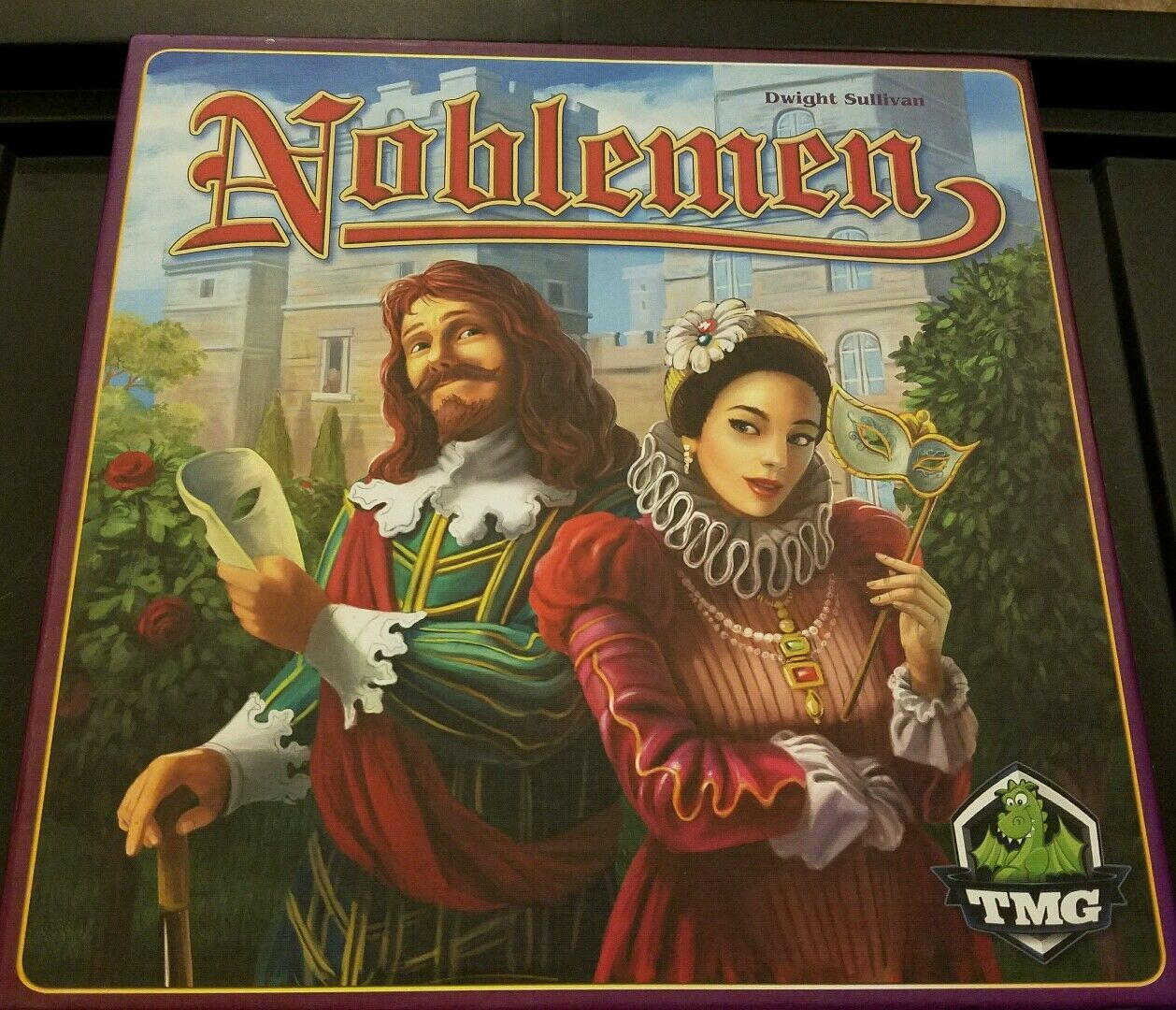 Noblemen Board Game - Game of Thrones Type Game - In Great Condition