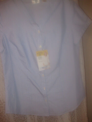 LEE RIDERS EASY CARE LADIES BLOUSE SHORT SLEEVE SELECT COLOR /& SIZE NWT $17.00
