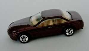 Hot-Wheels-Vintage-Toy-Car-Diecast-Burgundy-1992-Lexus-SC400-No-264-Malaysia