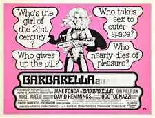 Barbarella Poster 10 Metal Sign A4 12x8 Aluminium