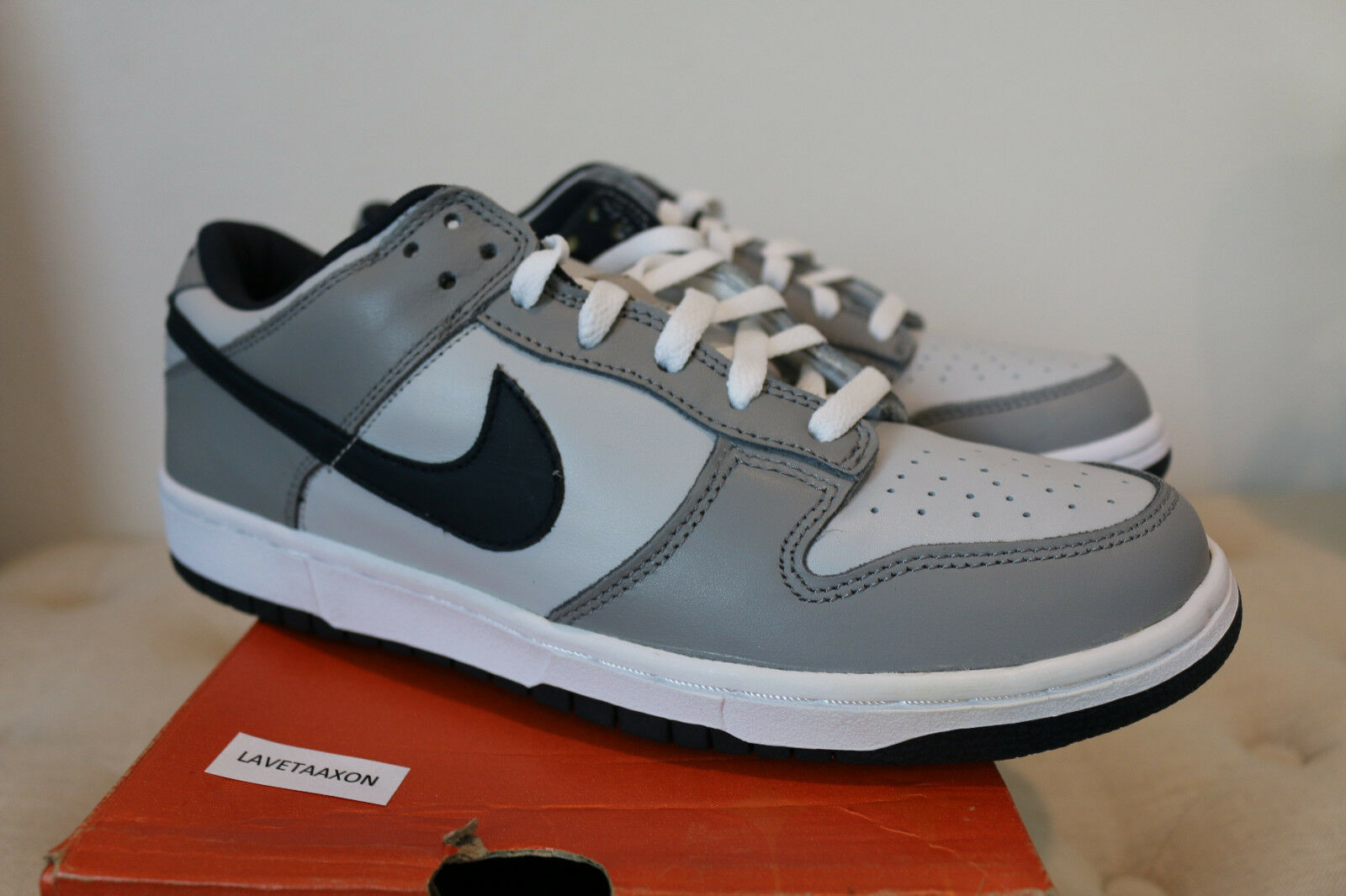 Nike Dunk Low Pro OBSIDIAN 9.5 fat tounge co co co jp putty smurf supreme sb 9ad2f4