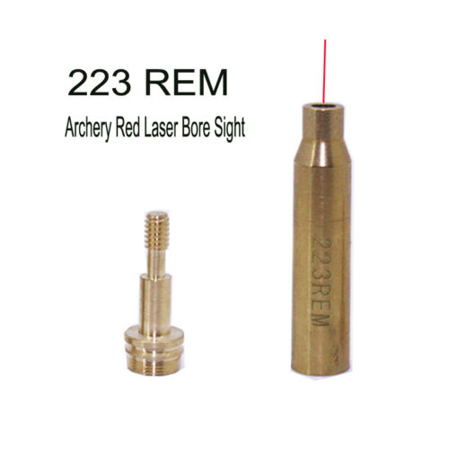 Bow Arrow and Crossbow Archery Red Laser Sight sighting Tool Boresight