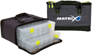 BAG GLU083 twin boxes great value MATRIX ETHOS PRO LARGE FEEDER CASE