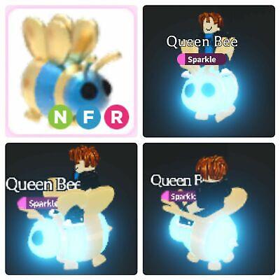 Roblox Queen Bee Adopt Me Neon Queen Bee Adopt Me Roblox Ebay