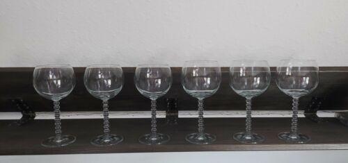 6 x Weinglas Weingläser Rotweingläser Weißweingläser Kelch Glas Kristallglas