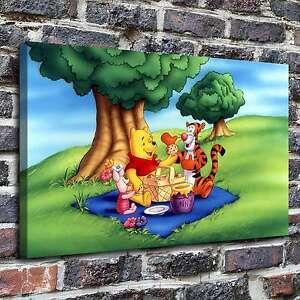 "Disney Winnie the Pooh Poster 30/"" x 8.5/"" Custom Name Painting Printing"
