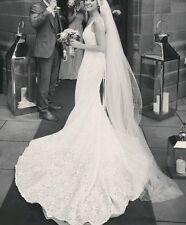 pronovias maricel designer wedding dress size 6