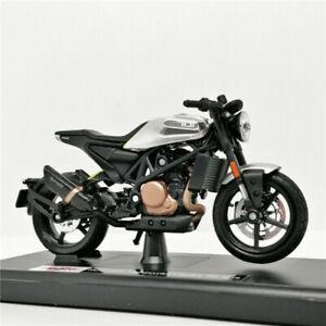 MAISTO-1-18-Husqvarna-Vitpilen-701-2018-MOTORCYCLE-BIKE-DIECAST-MODEL-NEW-IN-BOX