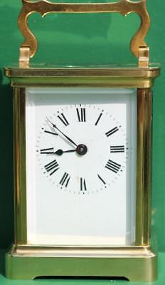 Arte Y Antigüedades Orderly Couaillet Freres 8 Día Time Piezas Corniche Reloj De Carruaje Duberdry Y Bloquel