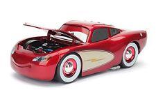 JADA 1:24 DISNEY PIXAR CARS CRUISING MCQUEEN DIE-CAST RED 98101