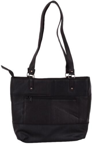 Ladies Tote Womens Soft Leather Handbag Shoulder Shopper Bag