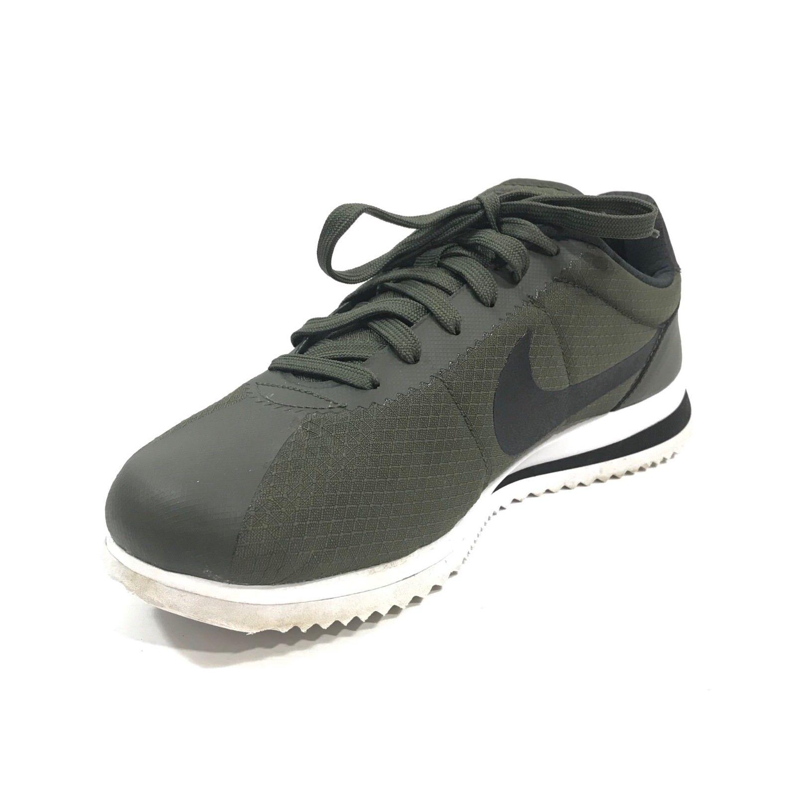 Nike Mens Cortez Casual Sneaker shoes Ultra Cargo Khaki Black Sz 8 833142-300