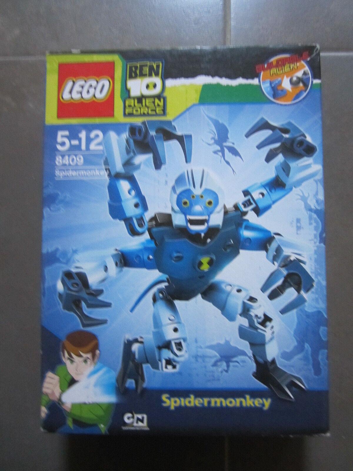 Lego 8409 SPIDER MONKEY Ben 10 Alien. NUEVO EN CAJA SIN ABRIR