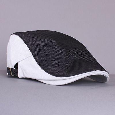 NEW Unisex Summer Newsboy Golf Hat AC Flat Cabbie Hunting Ivy Driving Gatsby Cap