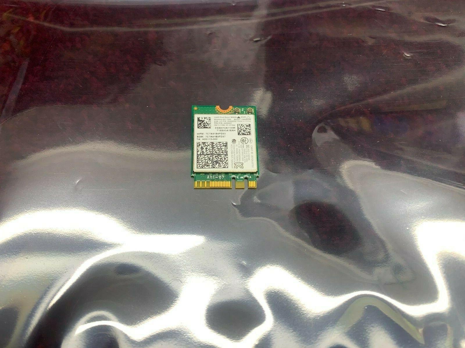 Lenovo ThinkPad W540 wifi wireless card