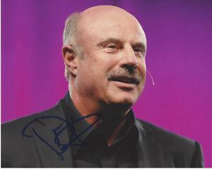 Autographs-original Dr Television Phil Mcgraw Signed Authentic 8x10 Photo E W/coa The Dr Phil Show Proof