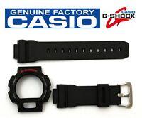 Casio Dw-9052 G-shock Original Black Band & Bezel Combo Dw-9050 Dw-9051