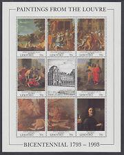 Lesotho Sc 947/1118 MNH. 1993-1998 Se-tenant + Souvenir Sheets, 3 cplt sets
