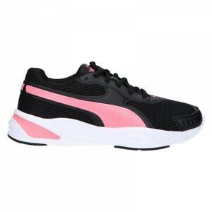 Dettagli su Scarpe da Ginnastica Donna Puma 90s Runner Sneakers Bassi Lacci Nero 37254907