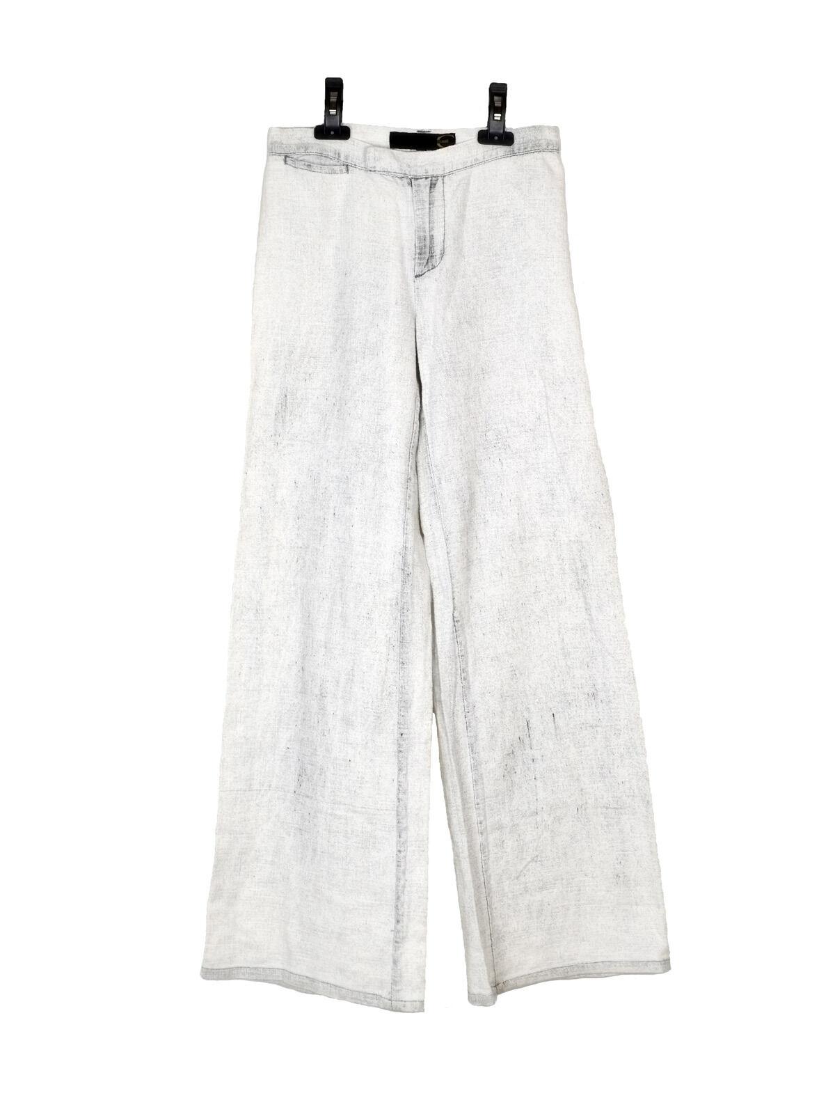 NEW Just Cavalli white stonewashed jeans
