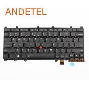 New/Orig 00PA154 for Lenovo Thinkpad Yoga 260 Laptop USI CHY Keyboard W/ Backlit