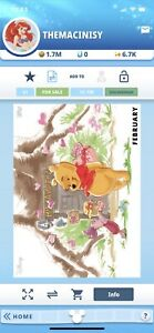 Topps-Disney-Collect-Digital-Winnie-The-Pooh-February-Vip-Seasons-Of-The-Hundred