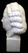 Bach Bust Statue Music Composer classical Sculpture