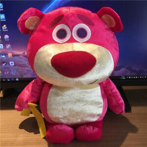 Disney-Toy-Story-Lotso-Bear-Strawberry-Plush-Toy-Gift-30CM