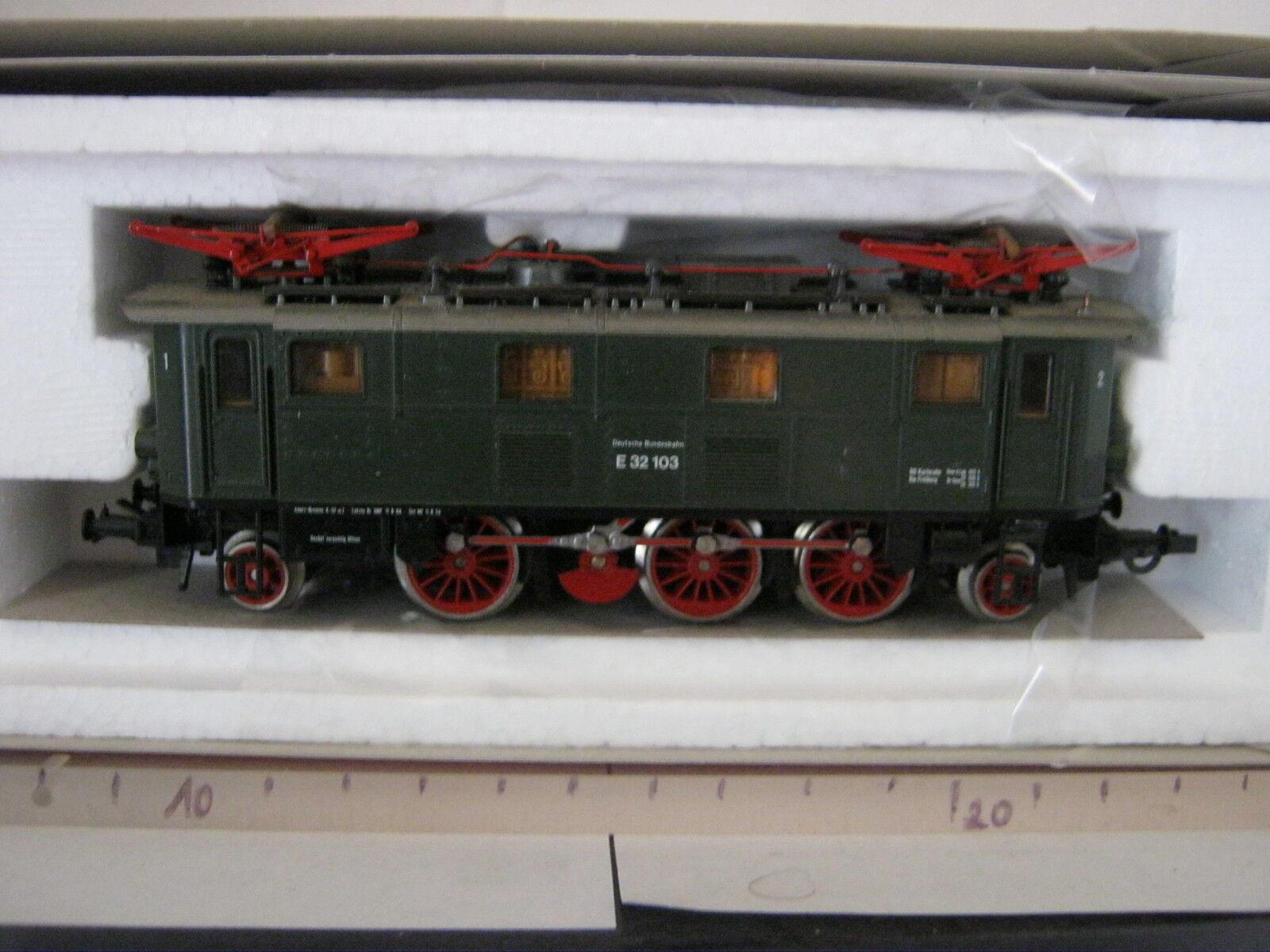 ROCO HO 43441 Elektro Lok btrnr e 32 103 DB  rg/bq/142-82s7f2