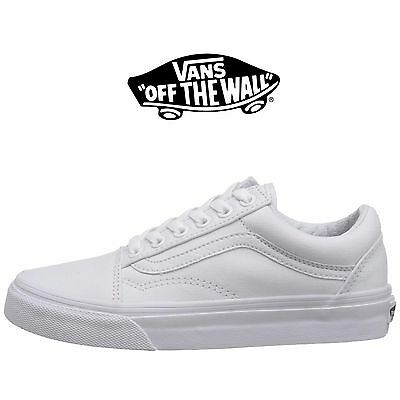 Mens Vans Old Skool Fashion Sneaker Core Classic White