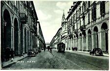 Cartolina Formato Piccolo - Torino - Via Po Viaggiata
