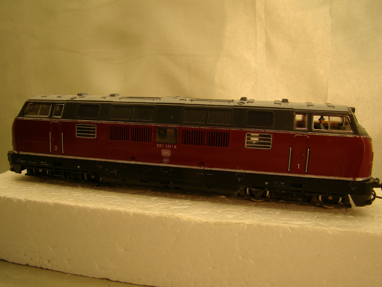 Fleischmann TEE Diesel Engine - beautiful model - completely serviced - HO scale