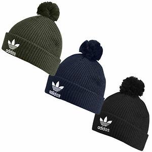 6c52fc3af Details about Adidas Originals Pom Pom Beanie Hat Bobble Hat Winter Hat New