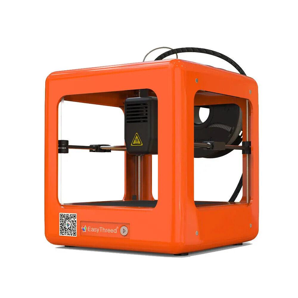 Easythreed Orange NANO Mini Vollmontierter 3D-Drucker 90*110*110 mm Druckgröße