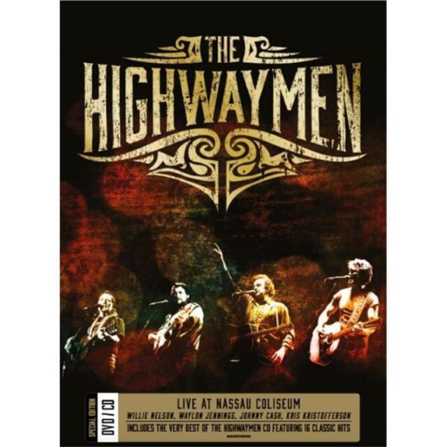 THE HIGHWAYMEN Live At Nassau Coliseum DVD/CD BRAND NEW NTSC Region 0 All