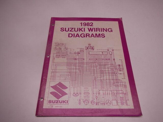 1982 Suzuki Wiring Diagrams Gs Dr Gn Sp Dr500 Gs750 Gs1100