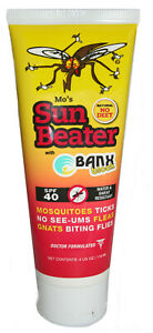 Mo's OBX SUN BEATER | SPF40 Mineral Sunscreen & DEET-Free Insect Repellent | NEW