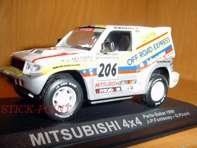 MITSUBISHI 4x4 PARIS DAKAR 1998 1 1 1 43 FONTENAY-PICARD 44ca78