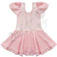 Girls Kids Toddler Ballet Leotard Gymnastics Tutu Dress Dance Wear Costume 2-3T