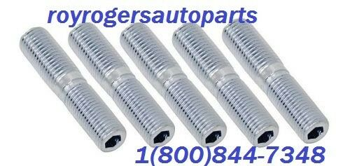 VW BUG BUGGY BUS GHIA CHEVY EMPI 9483 WHEEL STUDS M12-1.5 TO 7//16 SET OF 5