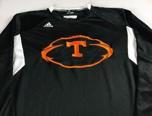 Tennessee-Vols-Long-Sleeve-Shirt-Mens-XL-Adidas-ClimaLite-Football-Sweatshirt