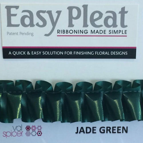 RIBBON EASY PLEAT IN 12 COLOURS 3 LENGHTS PRE PLEATED RIBBON SAVES TIME