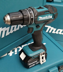 MAKITA-DHP482-18V-CORDLESS-HAMMER-DRILL-WITH-NEW-GENUINE-BL1830B-3-A-H-BATTERY