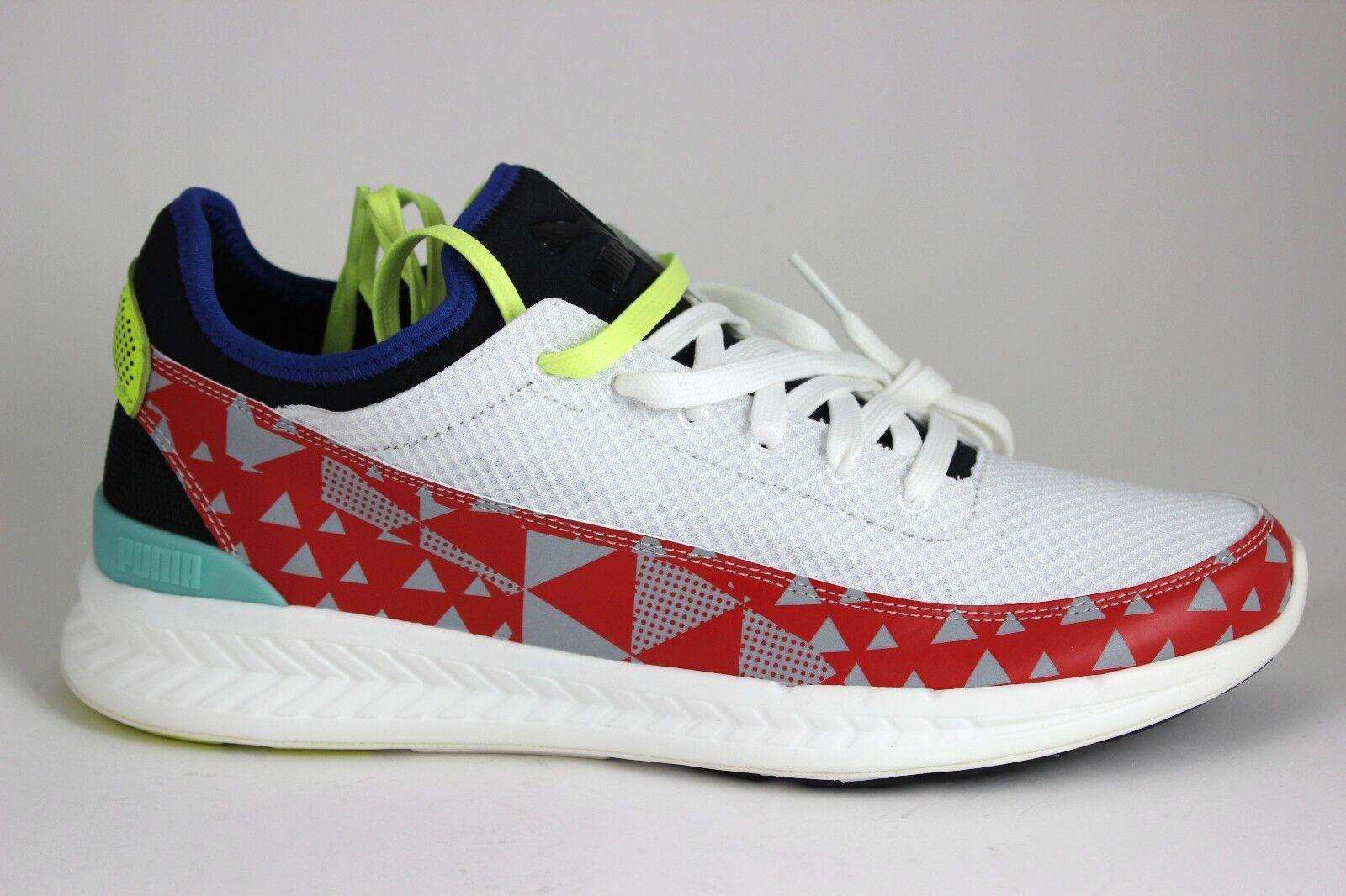 Men's PUMA Ignite Sock Fast Track ll 36218701 White HRR Black Brand New In Box