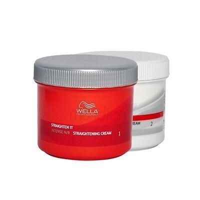 Wella strate Intense NR Hair Straightener Straightening Cream Smooth Perm | eBay