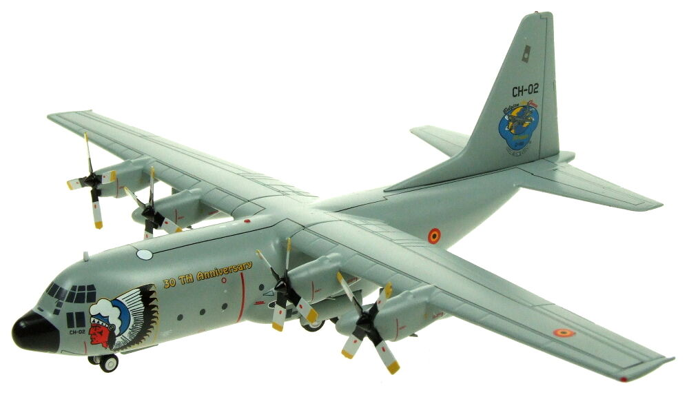 INFLIGHT 200 IF1300217 - 1 200 Belgio Air Force C-130 CH-02 30TH Anniversario