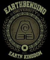 Avatar Last Airbender Aang Korra Earth Bending Toph Limited Mens T-shirt M-2xl