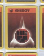 FIGHTING ENERGY 127/132 - Pokemon - Gym Challenge - NM -=- Buy more & save!